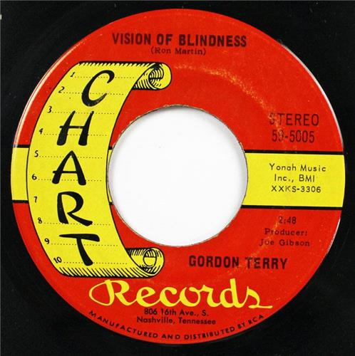 Gordon Terry, Charlie's Pride - Vision Of Blindness, Chart Records 59-5005