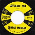 George Morgan, I'm Not Afraid - Loveable You, Columbia Records 45- 41188