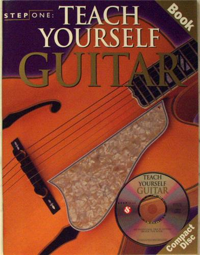 Teaching Yourself Guitar : teach yourself guitar amsco step one book cd 2000 still ~ Vivirlamusica.com Haus und Dekorationen