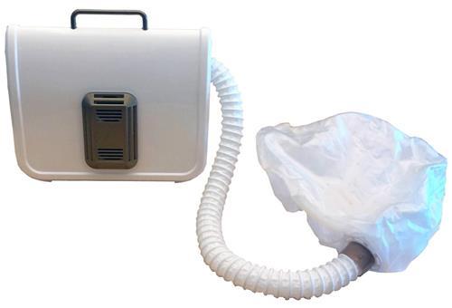 Belson Gold 'N Hot Professional Ionic Soft Jumbo Bonnet Hair Dryer GH3985 White