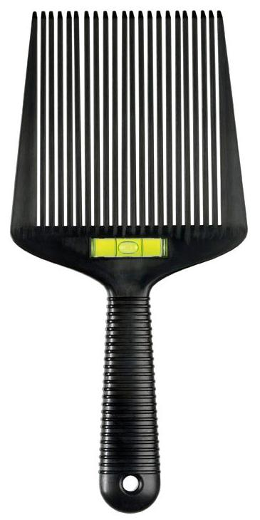 Flat Top Guide Comb With Liquid Bubble Level