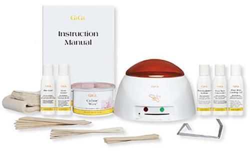 GiGi Mini Pro Kit Professional Salon Starter Hair Waxing Kit 0140