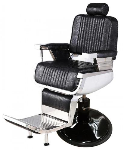 Crocodile Barber Chair Black Base