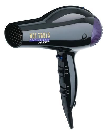 Hot Tools 1035 Black Professional Anti-Static Ionic Lightweight Hair Dryer