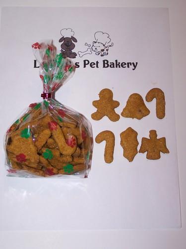 Savory Sweet Potato Christmas Dog Treats 16oz Ledfoots