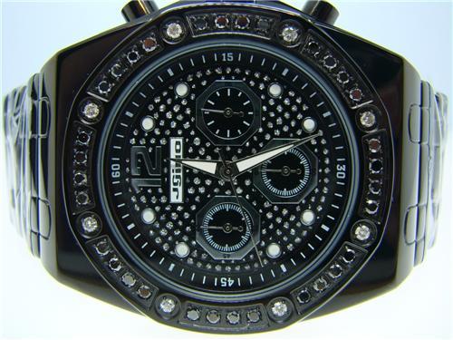 mens jojo jojino joe rodeo black diamond watch 1 75 ct ij 1094a dsc03390 jpg 6 29 2010