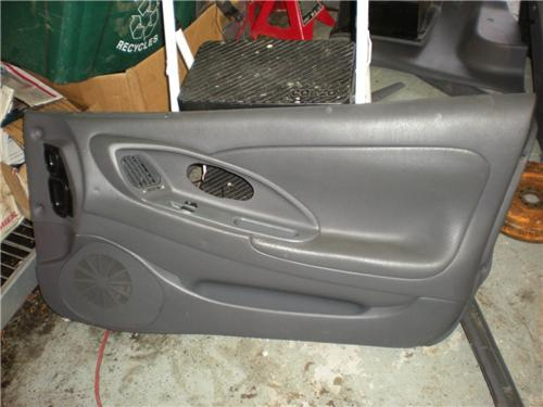 mitsubishi eclipse talon gray leather interior power door panels 2g