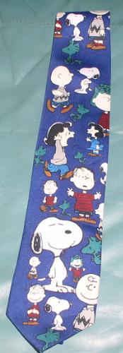 Linus Charlie Brown SnoopyLucy Peanuts Licensed Tie
