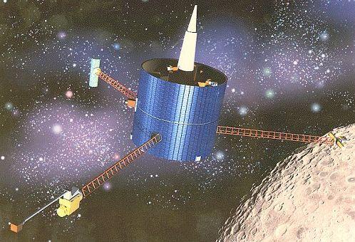 lunar prospector spacecraft - photo #3