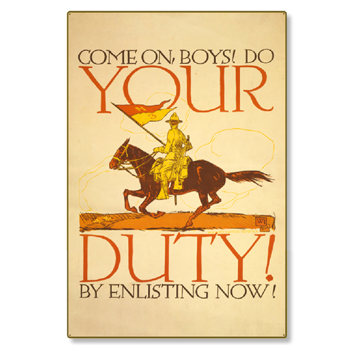 R000004-12-WWI-Enlistment-Poster-Your-Duty-steel-metal-vintage-image-wall-decor-art-panel.jpg