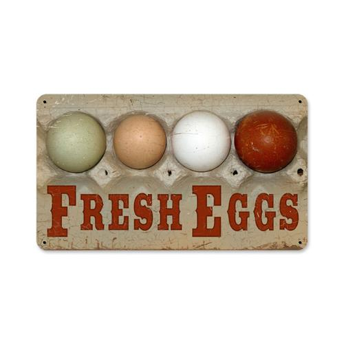 AIF001-Fresh-Farm-Eggs-tin-metal-sign