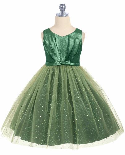 Green Taffeta Skirt 46