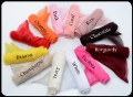 Organza Sash for Girls Dresses or Decor in 23 Color Choices