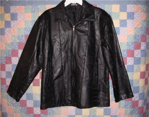 Flight Path STUNNING!!!!! 100% Leather Jacket Size Med - Surreal