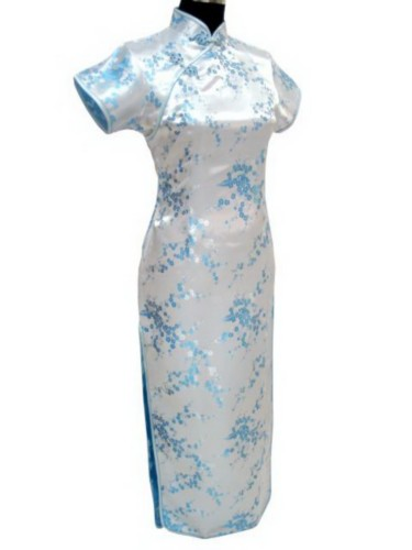 Oriental Chinese Cheongsam Qipao Long Dress Plus Size QL26