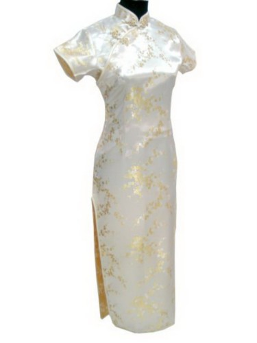 Oriental Chinese Cheongsam Qipao Long Dress Plus Size QL19