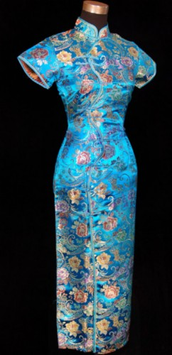 Oriental Chinese Prom Party Evening Dress Long QL13
