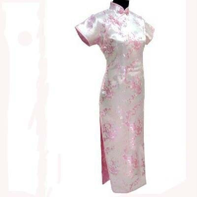 Oriental Chinese Cheongsam Qipao Long Dress Plus Size QL25