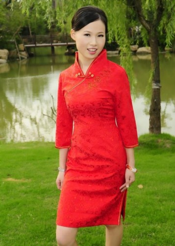 Oriental Chinese Prom Party Club Evening Short Dress QS83
