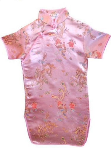 Oriental Chinese Cheongsam Costume Dress For Girl GD07