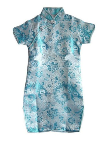 Oriental Chinese Cheongsam Costume Dress For Girl GD17