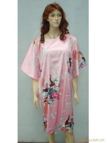 Silk Sleepwear Pyjama Night Dress Oriental Kaftan SW21