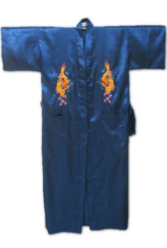 Silk Japanese Chinese Kimono Dressing Gown Bath Robe RU34