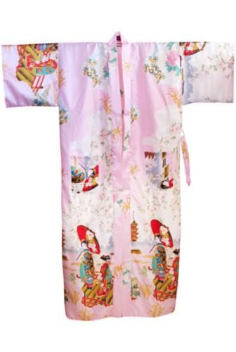 Oriental Japanese Geisha Style Dressing Gown Bath Robe RU52