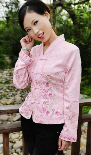 Oriental Chinese Evening Party Jacket Coat Blouse TL115