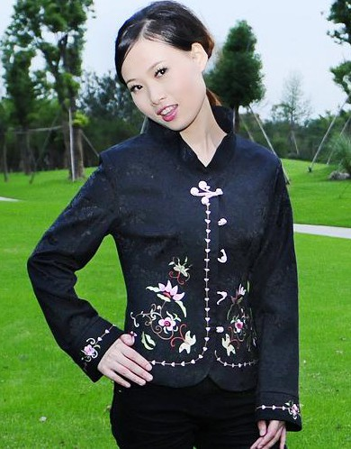 Oriental Chinese Evening Party Jacket Coat Blouse TL103