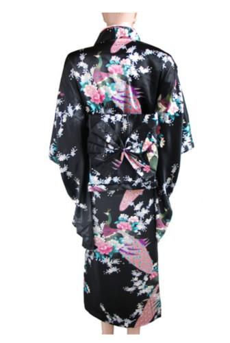 Details about White Traditional Yukata Japanese Kimono Costume DressTraditional Yukata