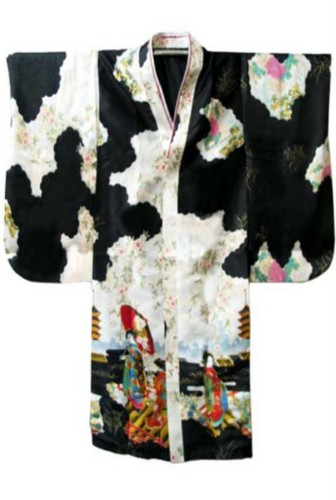 Details about Black Traditional Yukata Japanese Kimono Costume DressTraditional Yukata