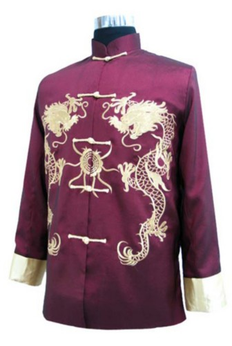 Men's Chinese Mandarin Jacket Kung fu Tai chi Costume TM37