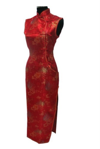 Chinese Mandarin Cheongsam Qipao Evening Long Dress QL79