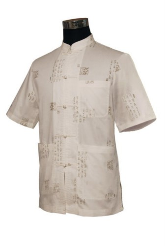Mens Chinese Mandarin Kung fu Tai chi Shirt Top Costume TS10
