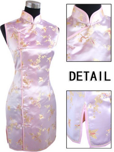 Oriental Chinese Costume Cheongsam Dress Plus Size QS96