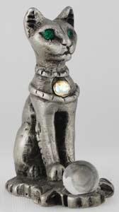 Pewter Bastet Figurine