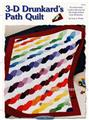 3-D Drunkard's Path Creative Scrap Quilt Pattern w/ Flexible Plastic Template