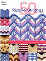50 Ripple Stitches  Crochet Pattern Book  Perfect for Afghans or Trim