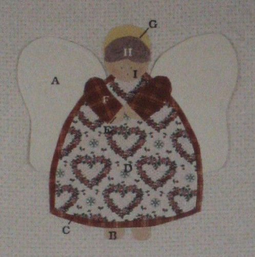Christmas Angel Quilt Pattern Heartland Treasures