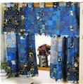 Blue Skies Valance & Curtains  Creative Scrap Quilt Pattern Leaflet
