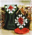 Chili Peppers Kitchen Set  Quilted Pattern Leaflet w/ Flexible Applique Template