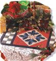 Holly Leaves Table Topper Creative Scrap Quilt Pattern Leaflet /w Templates