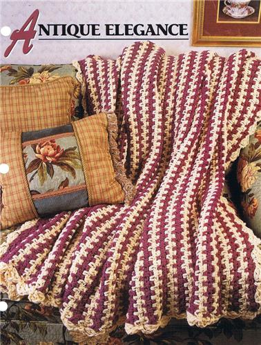 Annies Attic Crochet : Antique Elegance Annies Attic Crochet Afghan Pattern Instructions