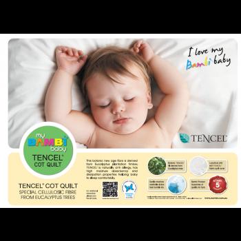 Bambi Australian Tencel Baby Cot Pack (Quilt, Pillow, Underquilt)