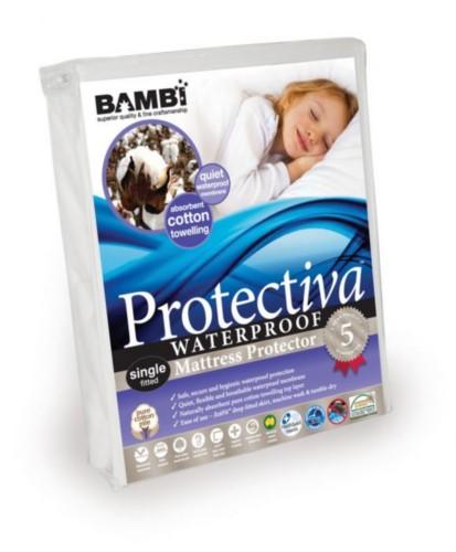 Protectiva Waterproof Cotton Bamboo Towelling Mattress