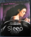 Sunbeam Sleep Perfect Wool Fleece Electric Blanket King