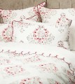 Laura Ashley 9 pc Helena Quilt Cover & Scalloped Sheet Set Pkg