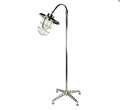 OneWorld Polished Aluminium Adjustable Floor Lamp