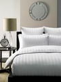 Linen House Commercial Satin Stripe European Pillowcases x 2